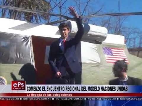 COMENZO EL ENCUENTRO REGIONAL DEL MODELO NACIONES UNIDAS