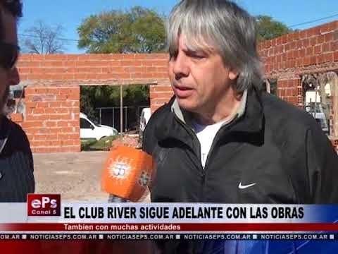 EL CLUB RIVER SIGUE ADELANTE CON LAS OBRAS