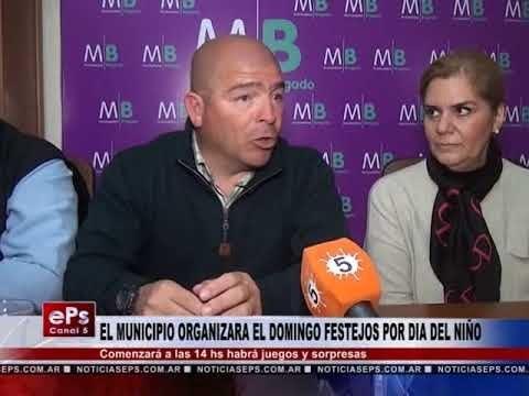 EL MUNICIPIO ORGANIZARA EL DOMINGO FESTEJOS POR DIA DEL NIÑO