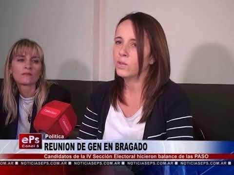 REUNION DE GEN EN BRAGADO