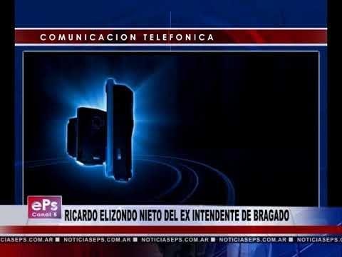RICARDO ELIZONDO NIETO DEL EX INTENDENTE DE BRAGADO