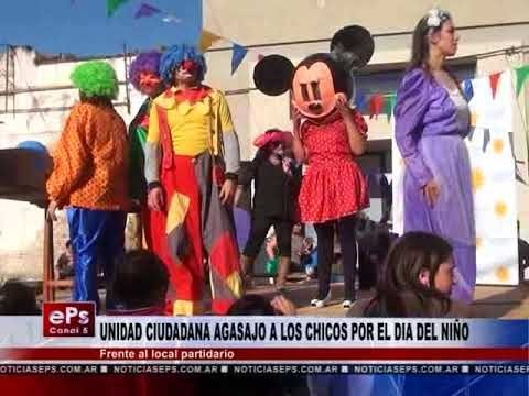 UNIDAD CIUDADANA AGASAJO A LOS CHICOS POR EL DIA DEL NIÑO