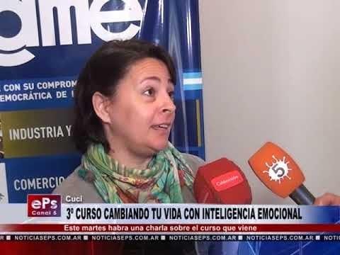 3º CURSO CAMBIANDO TU VIDA CON INTELIGENCIA EMOCIONAL