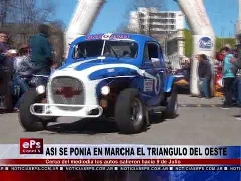 ASI SE PONIA EN MARCHA EL TRIANGULO DEL OESTE