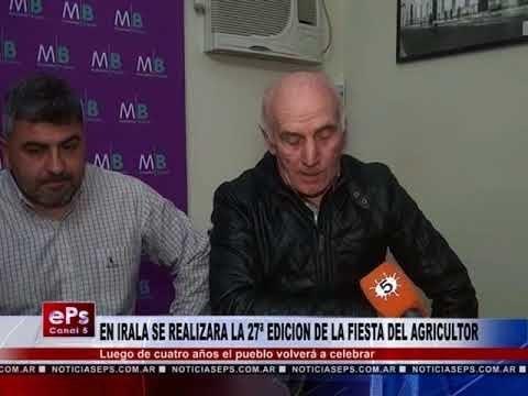 EN IRALA SE REALIZARA LA 27ª EDICION DE LA FIESTA DEL AGRICULTOR