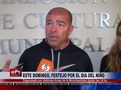ESTE DOMINGO, FESTEJO POR EL DIA DEL NIÑO