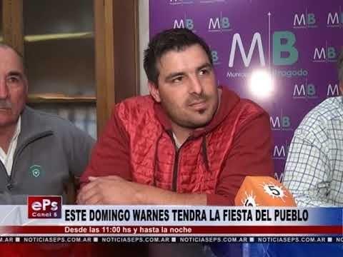 ESTE DOMINGO WARNES TENDRA LA FIESTA DEL PUEBLO