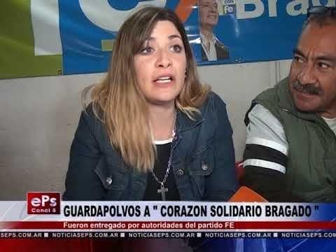 GUARDAPOLVOS A CORAZON SOLIDARIO BRAGADO