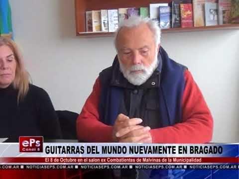 GUITARRAS DEL MUNDO NUEVAMENTE EN BRAGADO