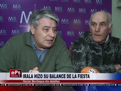 IRALA HIZO SU BALANCE DE LA FIESTA