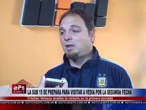 LA SUB 15 SE PREPARA PARA VISITAR A VEDIA POR LA SEGUNDA FECHA
