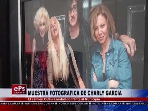 MUESTRA FOTOGRAFICA DE CHARLY GARCIA