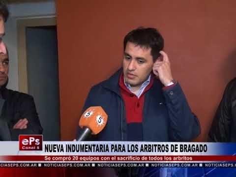 NUEVA INDUMENTARIA PARA LOS ARBITROS DE BRAGADO