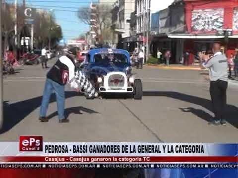 PEDROSA BASSI GANADORES DE LA GENERAL Y LA CATEGORIA