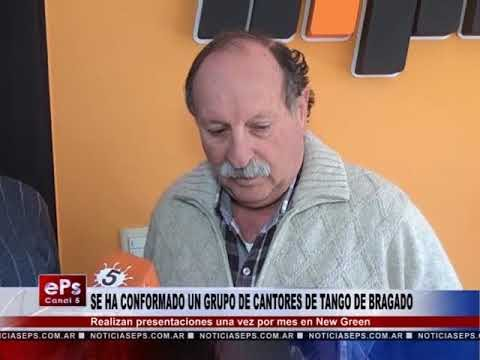 SE HA CONFORMADO UN GRUPO DE CANTORES DE TANGO DE BRAGADO