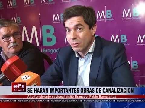 SE HARAN IMPORTANTES OBRAS DE CANALIZACION