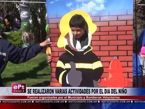 SE REALIZARON VARIAS ACTIVIDADES POR EL DIA DEL NIÑO