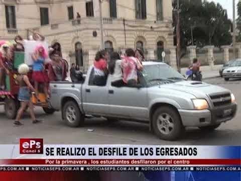 SE REALIZO EL DESFILE DE LOS EGRESADOS