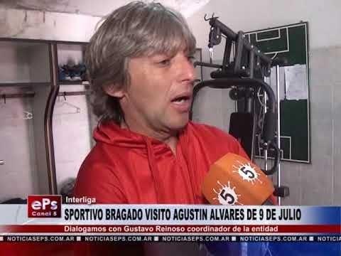 SPORTIVO BRAGADO VISITO AGUSTIN ALVARES DE 9 DE JULIO