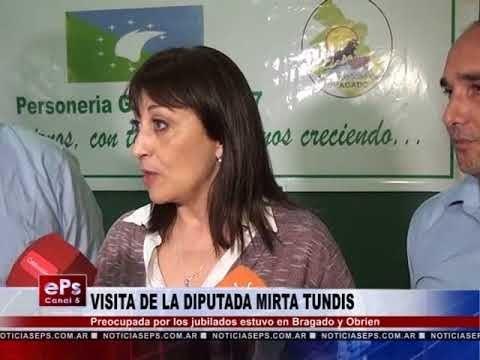 VISITA DE LA DIPUTADA MIRTA TUNDIS