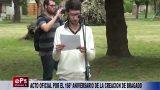 ACTO OFICIAL POR EL 166º ANIVERSARIO DE LA CREACION DE BRAGADO