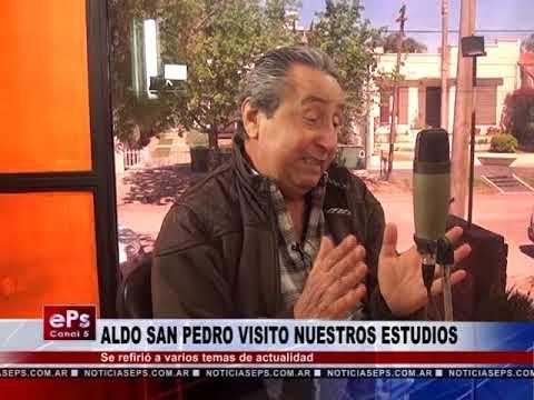 ALDO SAN PEDRO VISITO NUESTROS ESTUDIOS PARTE 2