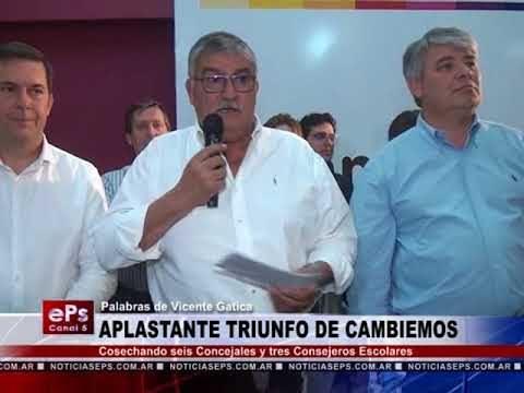 APLASTANTE TRIUNFO DE CAMBIEMOS