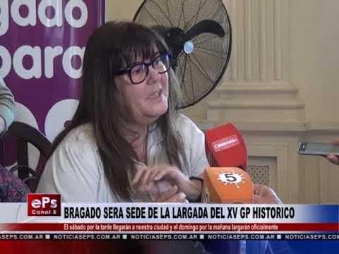 BRAGADO SERA SEDE DE LA LARGADA DEL XV GP HISTORICO