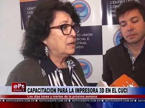CAPACITACION PARA LA IMPRESORA 3D EN EL CUCI