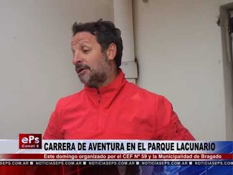 CARRERA DE AVENTURA EN EL PARQUE LACUNARIO