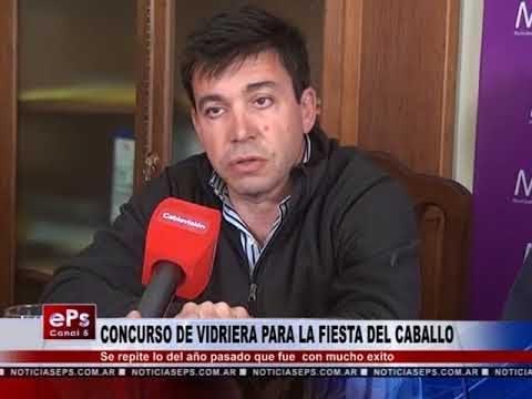 CONCURSO DE VIDRIERA PARA LA FIESTA DEL CABALLO