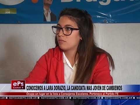 CONOCEMOS A LARA DORAZIO, LA CANDIDATA MAS JOVEN DE CAMBIEMOS