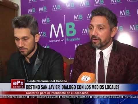 DESTINO SAN JAVIER DIALOGO CON LOS MEDIOS LOCALES