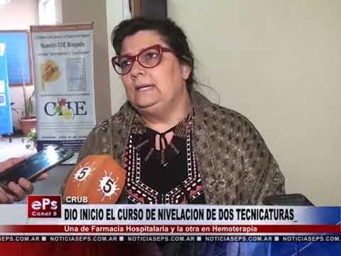 DIO INICIO EL CURSO DE NIVELACION DE DOS TECNICATURAS