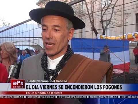 EL DIA VIERNES SE ENCENDIERON LOS FOGONES