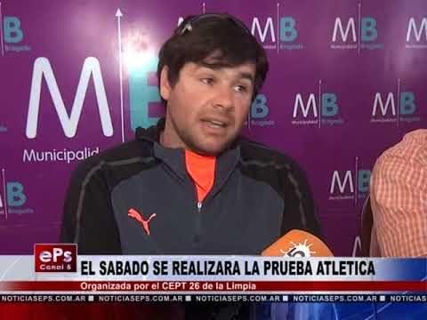 EL SABADO SE REALIZARA LA PRUEBA ATLETICA