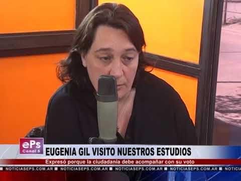 EUGENIA GIL VISITO NUESTROS ESTUDIOS PÀRTE 2