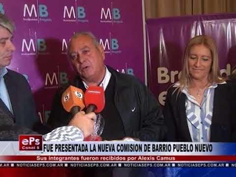 FUE PRESENTADA LA NUEVA COMISION DE BARRIO PUEBLO NUEVO