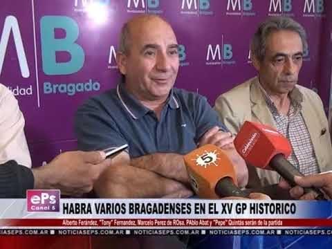 HABRA VARIOS BRAGADENSES EN EL XV GP HISTORICO