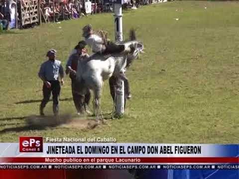 JINETEADA EL DOMINGO EN EL CAMPO DON ABEL FIGUERON