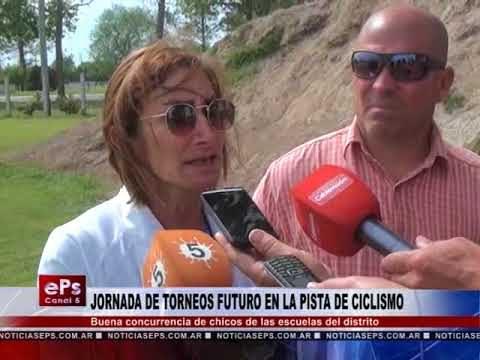 JORNADA DE TORNEOS FUTURO EN LA PISTA DE CICLISMO