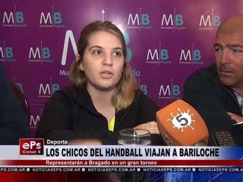 LOS CHICOS DEL HANDBALL VIAJAN A BARILOCHE