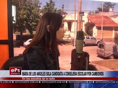 MARIA DE LOS ANGELES SOLA CANDIDATA A CONSEJERA ESCOLAR POR CAMBIEMOS