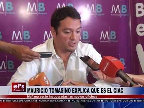 MAURICIO TOMASINO EXPLICA QUE ES EL CIAC