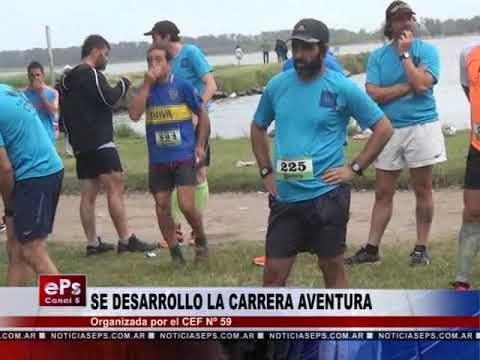 SE DESARROLLO LA CARRERA AVENTURA