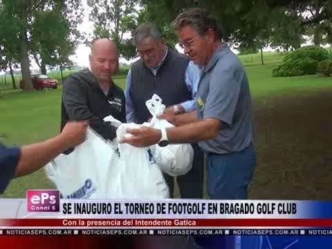 SE INAUGURO EL TORNEO DE FOOTGOLF EN BRAGADO GOLF CLUB