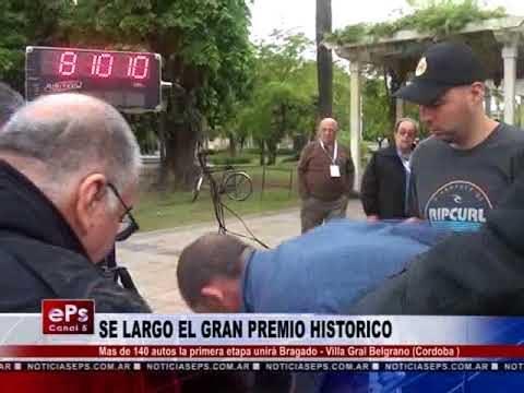 SE LARGO EL GRAN PREMIO HISTORICO