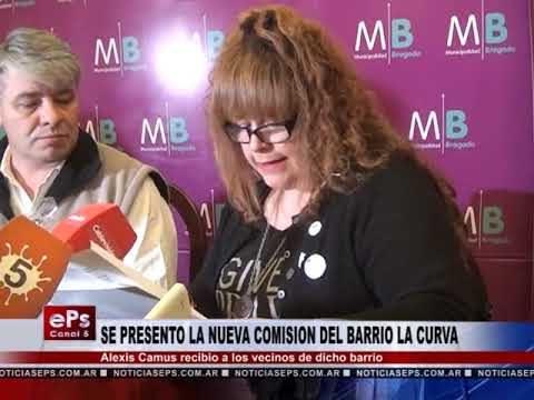 SE PRESENTO LA NUEVA COMISION DEL BARRIO LA CURVA