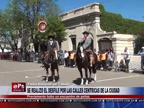 SE REALIZO EL DESFILE POR LAS CALLES CENTRICAS DE LA CIUDAD