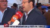 VISITAS IMPORTANTE EN LA FIESTA DEL CABALLO